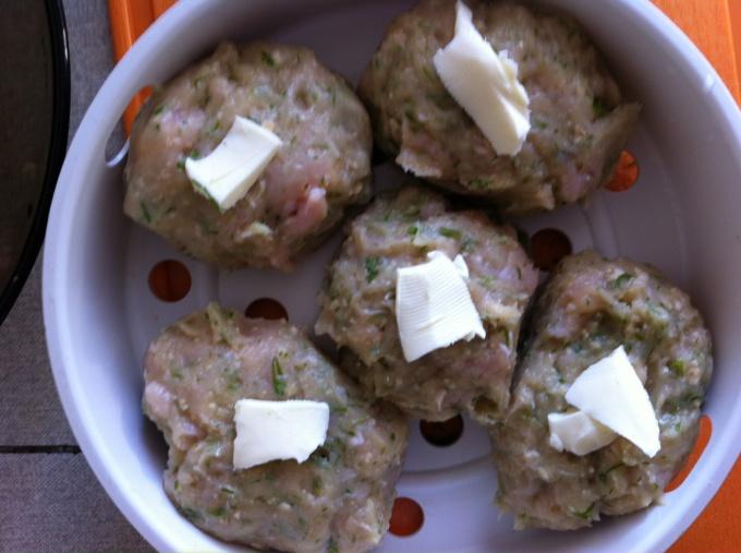 Куриные котлеты с плавленым сыром  пошаговый рецепт с
