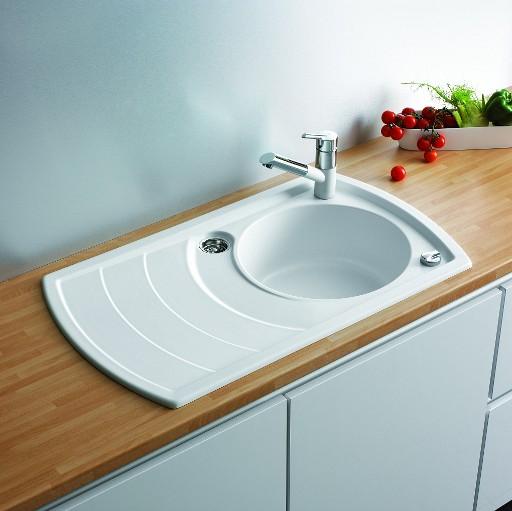 Как выбрать кухонную мойку из камня