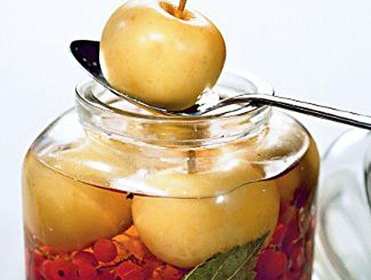Рецепт приготовления моченых яблок