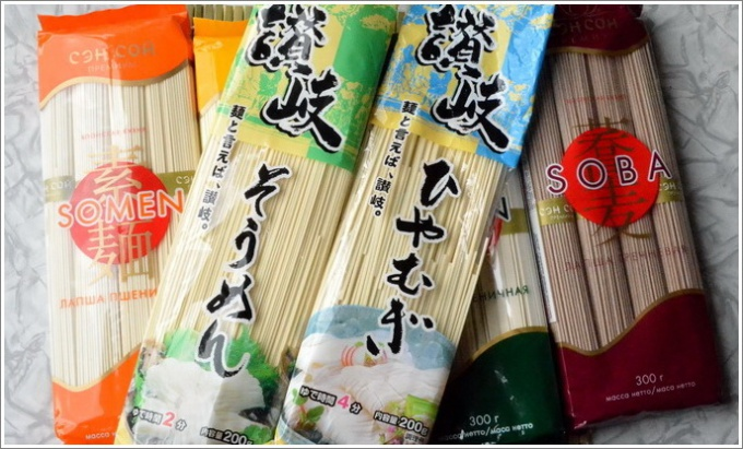 The Asian kitchen: the main types of noodles