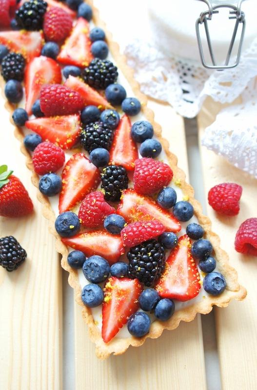 Тарт с ягодами рецепты