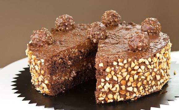 """Как приготовить торт """"Ferrero rocher"""""""