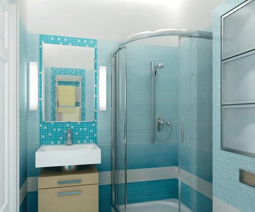 Как оформить душевую комнату