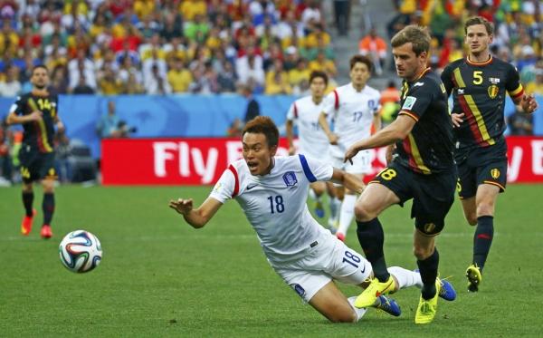 ЧМ 2014 по футболу: как проходил матч Южная Корея - Бельгия