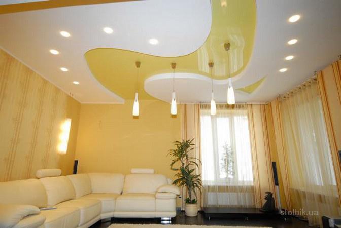 Натяжной потолок: вреден ли он?