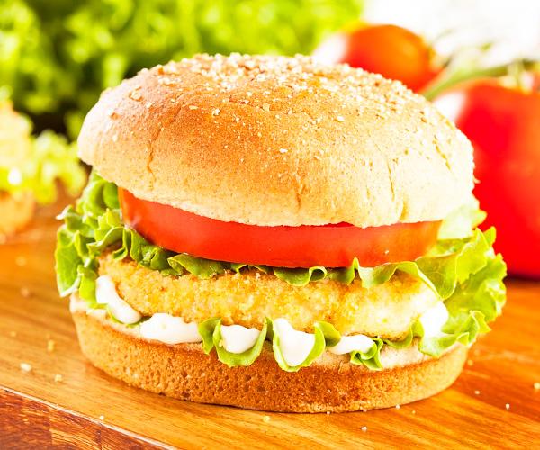Сделать бутерброд с курицей