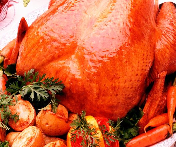 Вкусная курица в духовке с шампиньонами