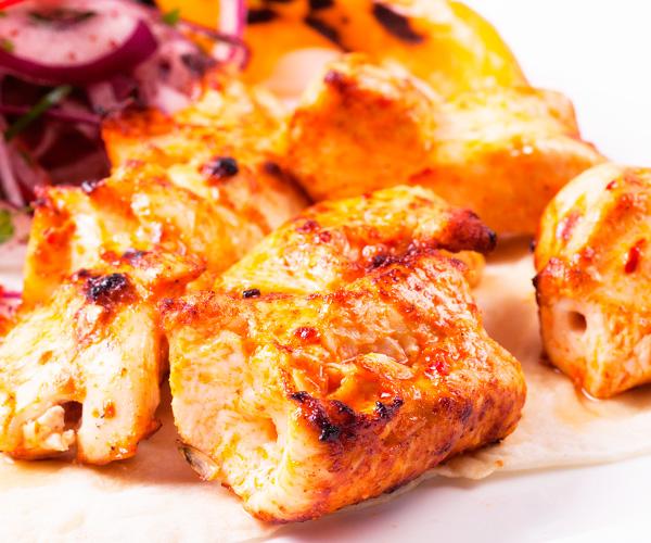 Приготовить шашлык из курицы в духовке