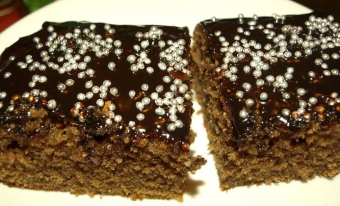 Готовим кофейно-ореховый кекс