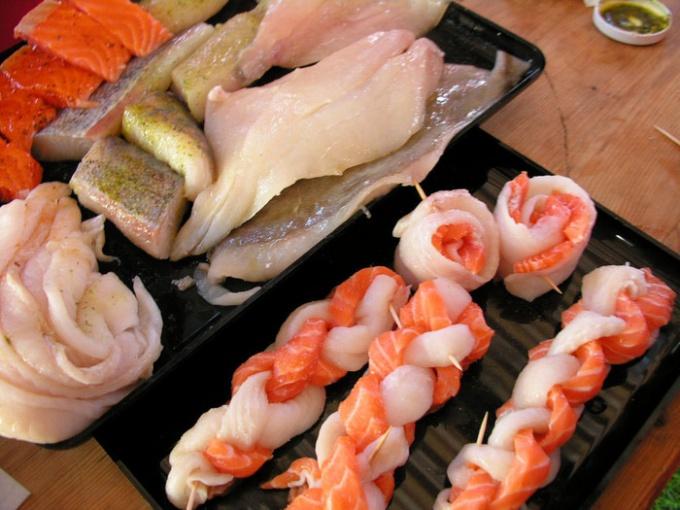 Рыбные косички