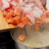 Как приготовить рыбную сборную солянку