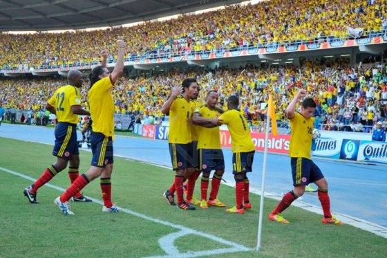 1/8 финала ЧМ 2014 по футболу: Колумбия - Уругвай