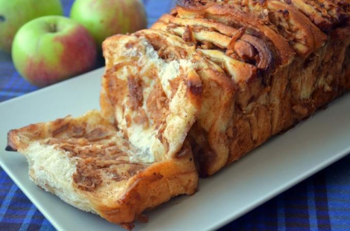 Как приготовить «Яблочную гармошку»