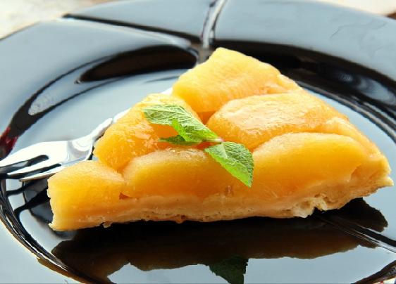 Французский пирог с грейпфрутами