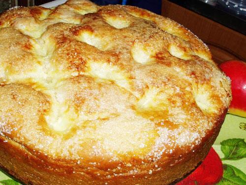 Готовим сахарный пирог