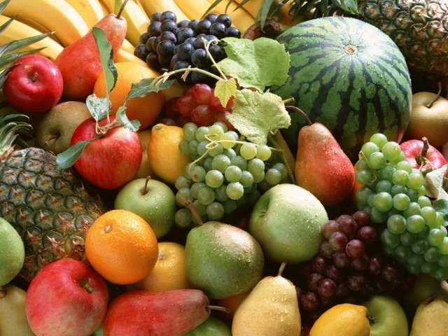 In any fruit the most vitamins