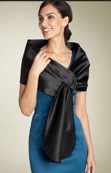 Оригинальная накидка и платье