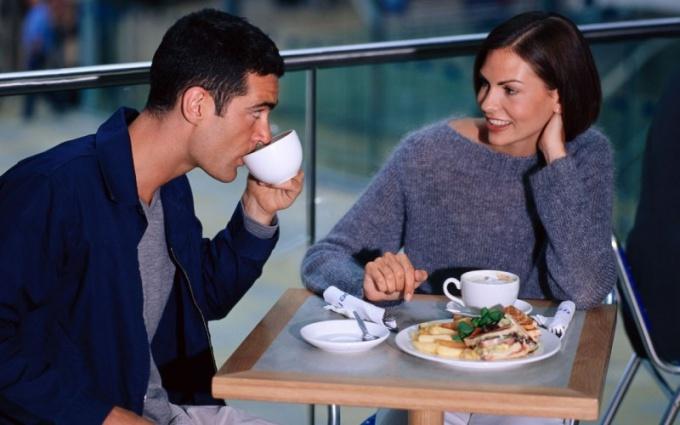 Ни к чему не обязывающая чашечка кофе...