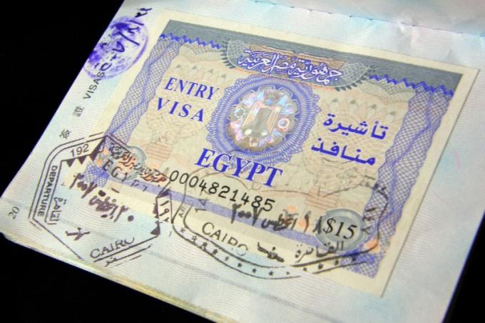 Как заполнять визу в Хургаде