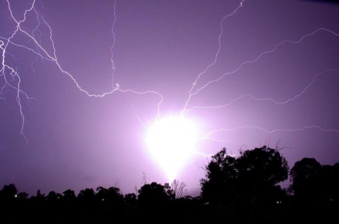 Шаровая молния: как это выглядит