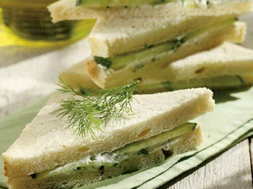 Как сделать сэндвич с огурцом