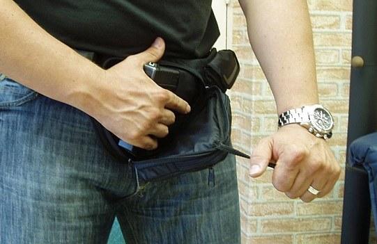 Ношение оружие незаконно без получения разрешения