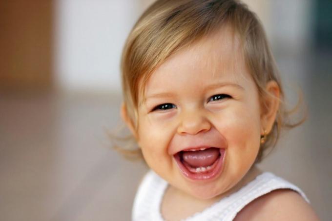 Как выглядит ребенок в 8 месяцев
