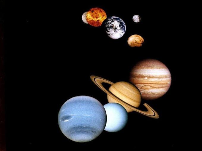 Как выглядит Солнечная система