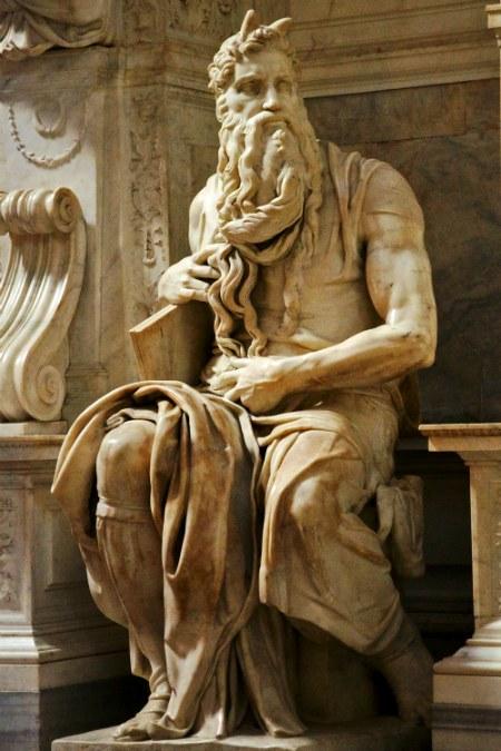Моисей Микеланджело, который совсем не Моисей