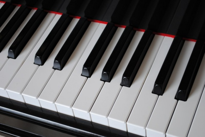 "Найдите на клавиатуре клавищу ""до"""