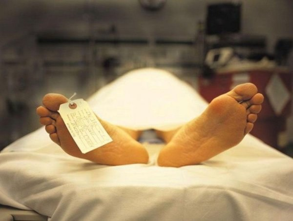 What happens to a corpse in the morgue
