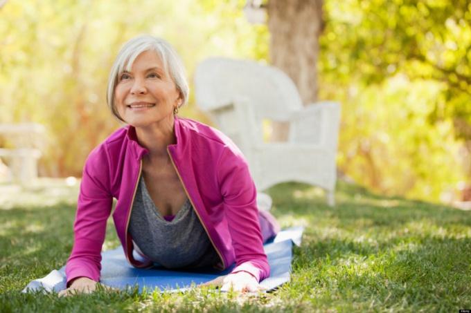 Йога поможет сохранить суставы здоровыми