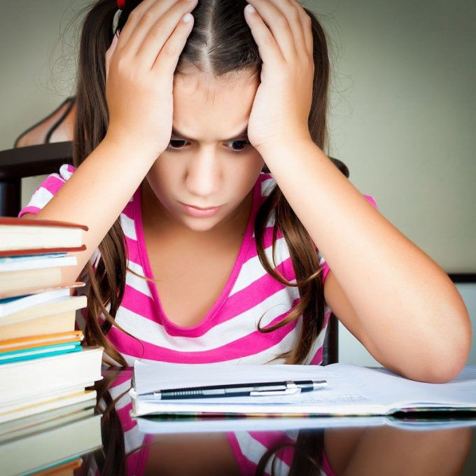 The transition in grade 5 may be accompanied by stress