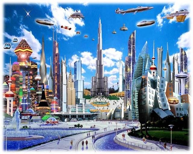 Летающие автобусы будущего