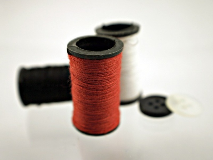 Thread and needle should match the fabric