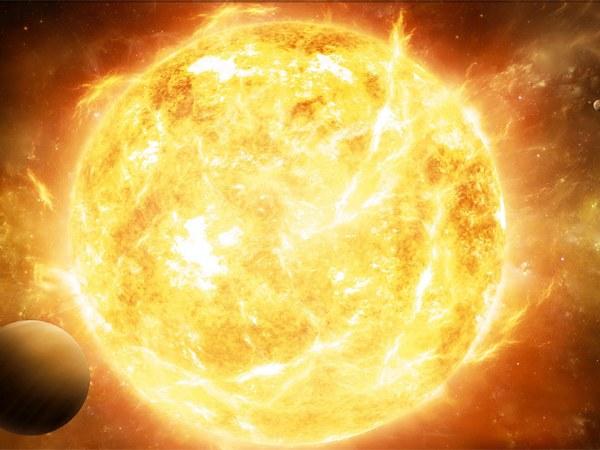 Солнечные ветер достигает Земли спустя сутки