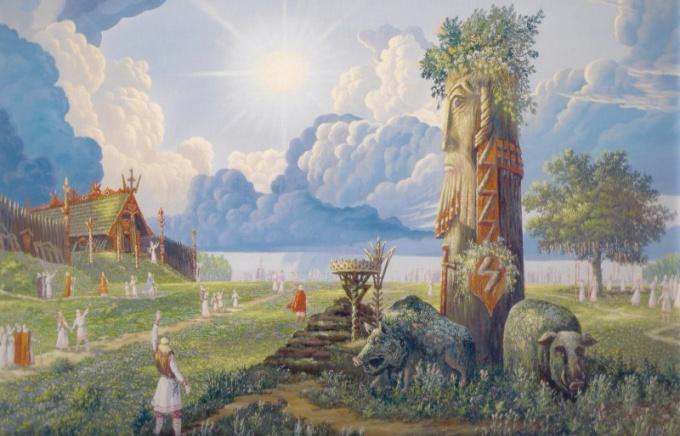 Солнце в славянской мифологии