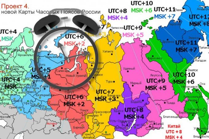 Какие в Сибири часовые пояса