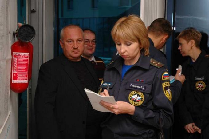 Что и как проверяет пожарная охрана