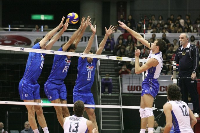 Современный волейбол