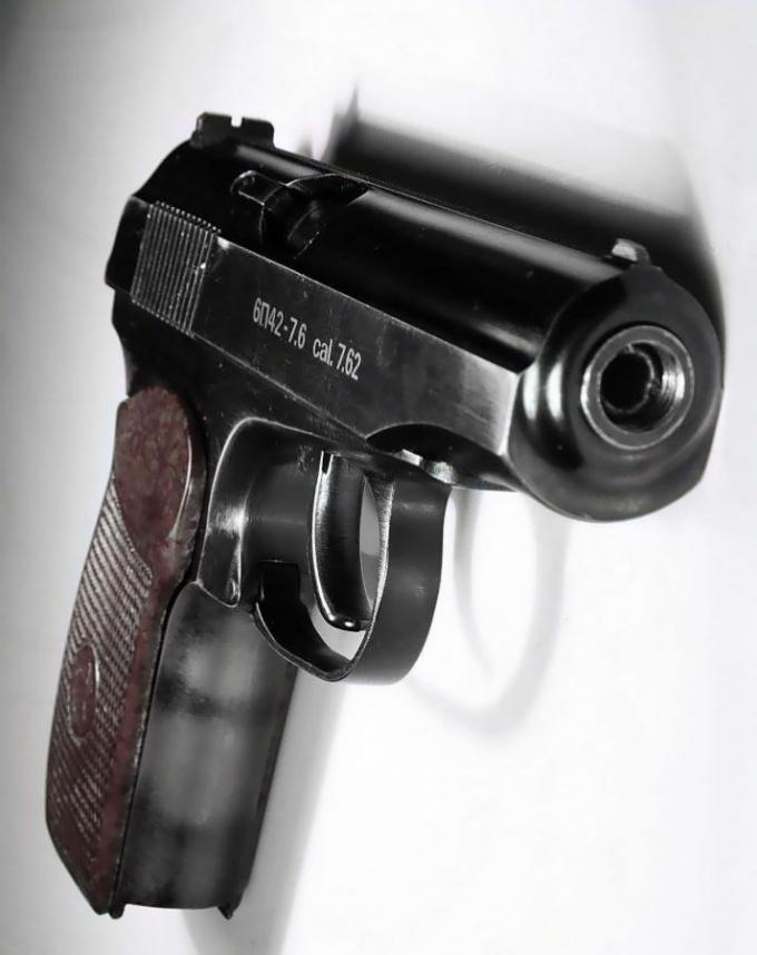 Газовый пистолет Макарова, который разрешен к продаже в России.