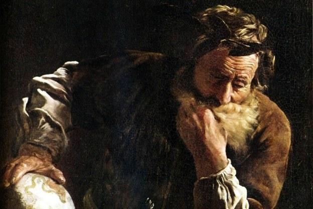Великий греческий мыслитель Архимед.