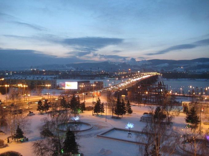 Какой климат в Красноярске