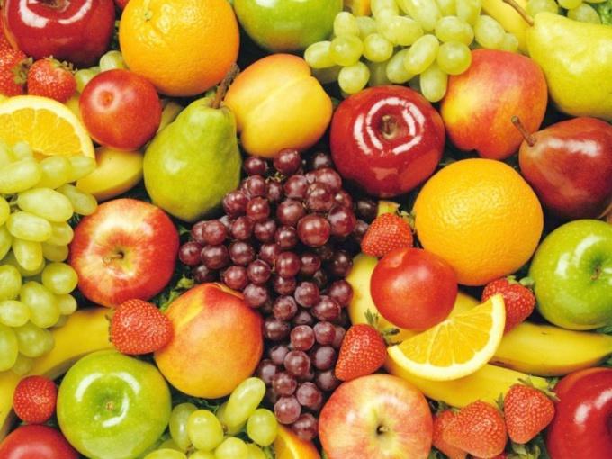 Фрукты богаты витаминами