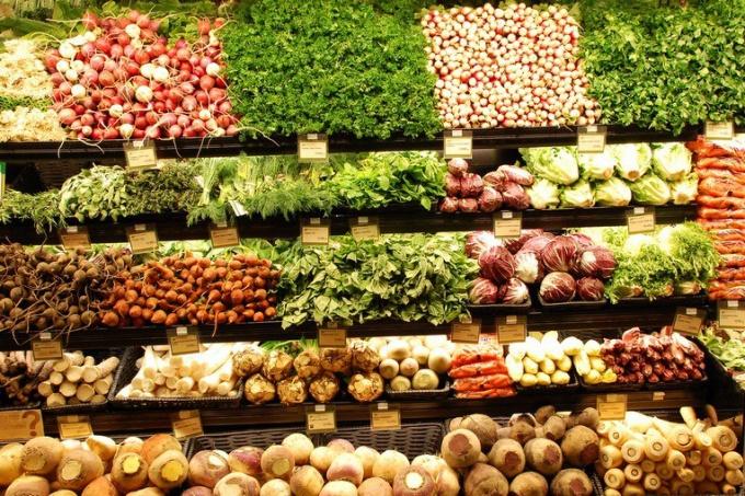 В каких овощах больше всего углеводов