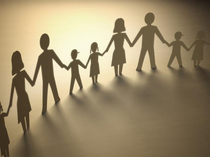 Признаки семьи как института