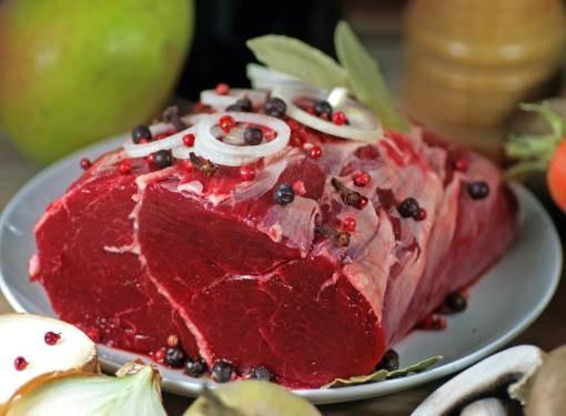 Говяжье мясо на 20% состоит из белка