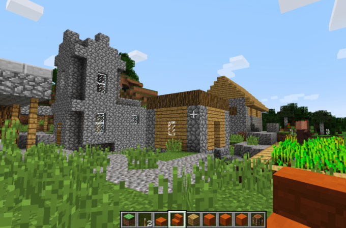 Switching modes will allow the player to discover Minecraft from different sides