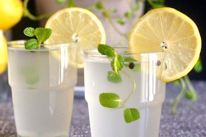 Как сделать турецкий лимонад