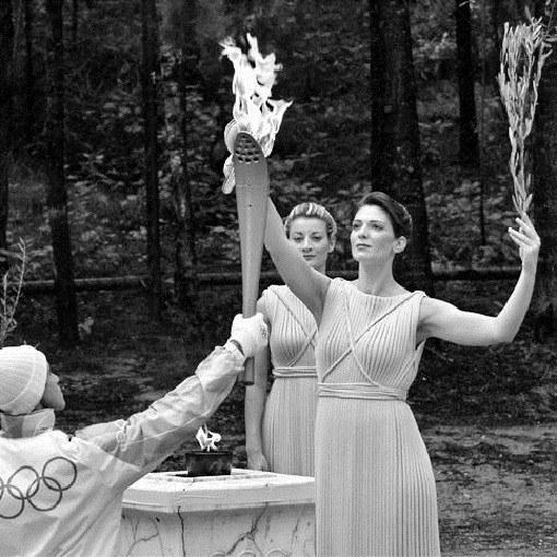 Открытие первых Олимпийских игр современности в 1986 г.